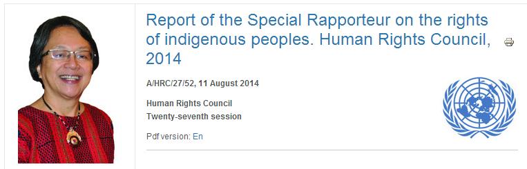 UN HRC Report